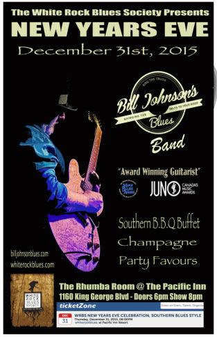 WRBS New Years Eve Celebration, Southern Blues Style