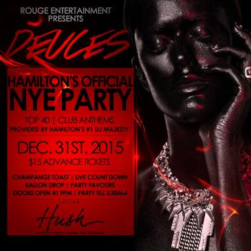 DEUCES - HAMILTON'S OFFICIAL NYE PARTY