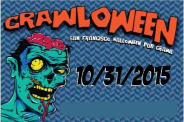 San Francisco Halloween Pub Crawl and Thriller Flash Mob
