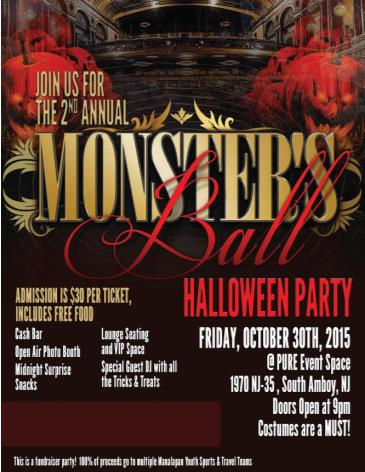 2nd Annual Monsters Ball Halloween Party