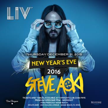 Steve Aoki New Year's Eve LIV: Main Image