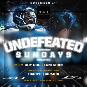 HALLOWEEN SUNDAY PARTY BRUNCH/FOOTBALL WITH CELEBRITY CHEFS