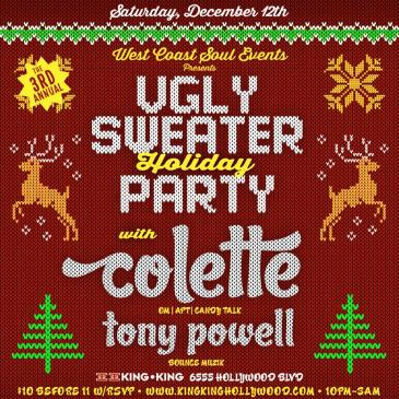 Colette! WCS Events Ugly Sweater Holiday Party!-img