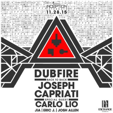 Inception ft. Dubfire b2b Joseph Capriati + Carlo Lio-img