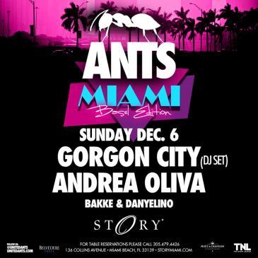 ANTS presents: Gorgon City (DJ set) & Andrea Oliva STORY: Main Image