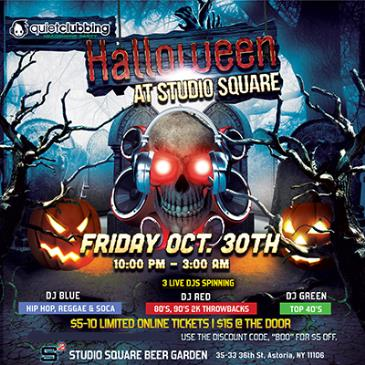 Halloween Quiet Clubbing At Studio Square