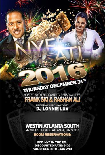 NYE in the ATL 2016
