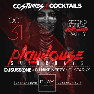 Halloween at Play Lounge Queens