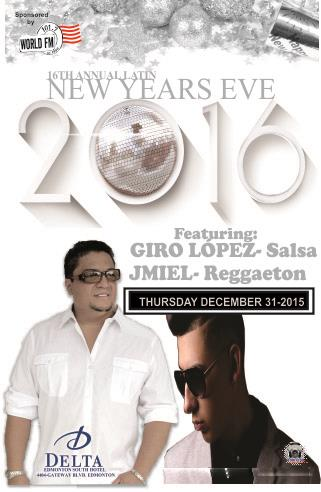 16th Annual Latin New Years