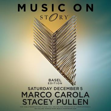 MUSIC ON Marco Carola & Stacey Pullen STORY: Main Image