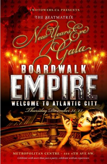 The Beatmatrix New Years Eve Gala - Boardwalk Empire