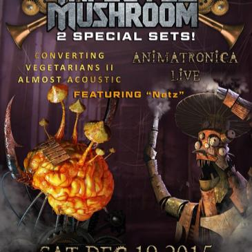 Infected Mushroom 2 Live Sets - Anamatronica show - Acoustic-img