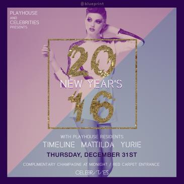 PLAYHOUSE NEW YEAR'S EVE :: CELEBRITIES
