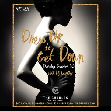 DRESS UP // GET DOWN NEW YEAR'S EVE :: THE CHARLES BAR