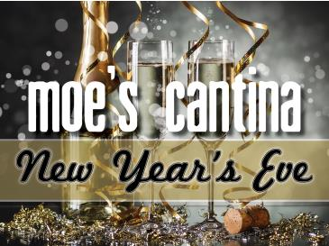 New Years Eve at Moe's Cantina (River North)