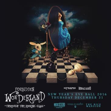 Forbidden Wonderland New Years Eve Ball 2016 - Houson-img