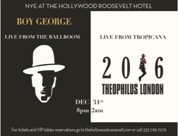 New Year's Eve at The Hollywood Roosevelt: Main Image