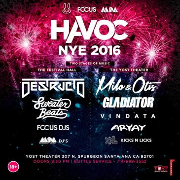 Havoc New Years Eve 2016: Main Image