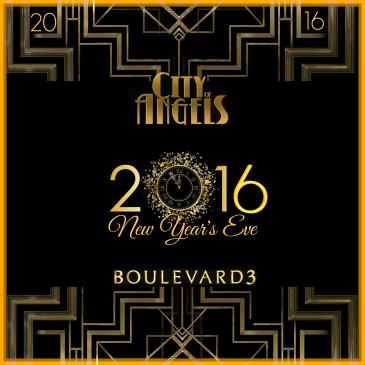 CITY OF ANGELS: NYE @BOULEVARD3