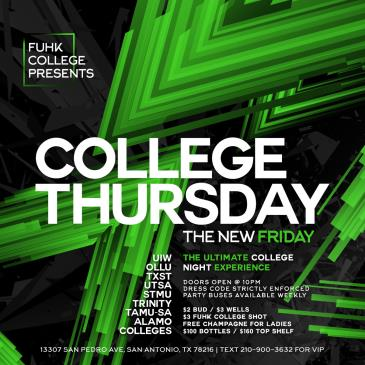 College Thursday w/ Fuhk College-img