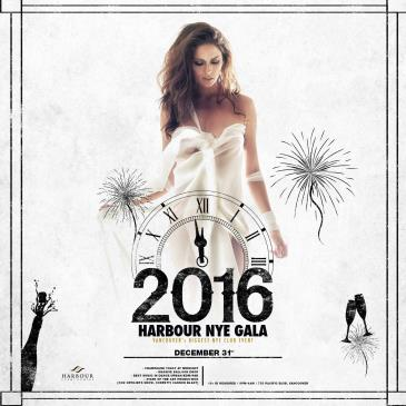 HARBOUR 2016 NYE GALA