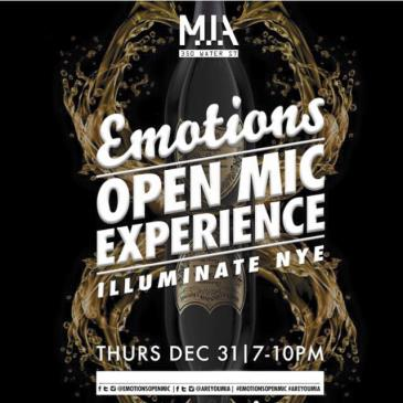 EMOTIONS OPEN MIC NYE :: M.I.A. (Early Show)