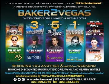 BAKER 2 VEGAS OFFICIAL WKND & AFTER PARTY ENCORE & SLS HOTEL: Main Image