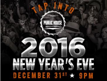 New Year's Eve at Public House