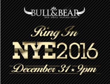 New Years Eve at Bull & Bear
