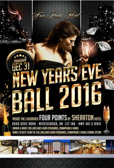 four points by sheraton NYE BALL