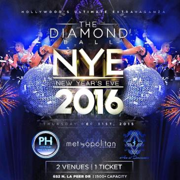 DIAMOND BALL NYE 2016 @ Penthouse