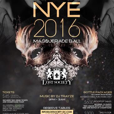 Lost Society NYE - 2016 Masquerade Party-img