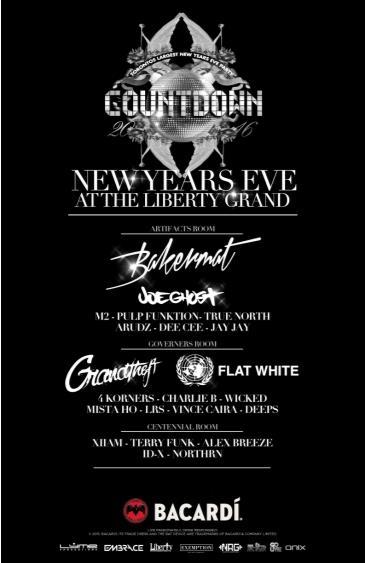 Countdown 2016 Liberty Grand