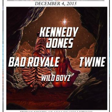 Kennedy Jones, Bad Royale, Twine-img