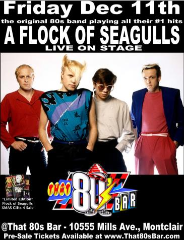 A Flock of Seagulls -Live on Stage-: Main Image