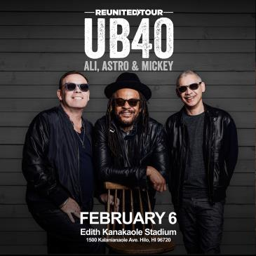 UB40 REUNITED TOUR