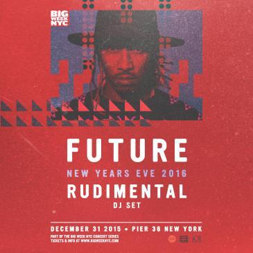 FUTURE (Live) w/ RUDIMENTAL | New Years Eve 2016 @ Pier 36: Main Image