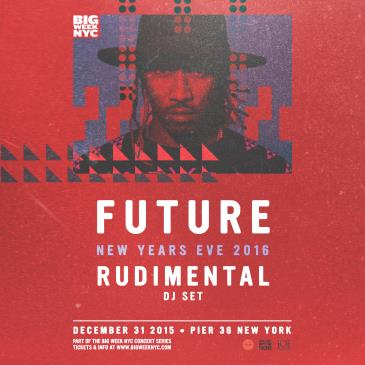 FUTURE (Live) w/ RUDIMENTAL | New Years Eve 2016 @ Pier 36-img
