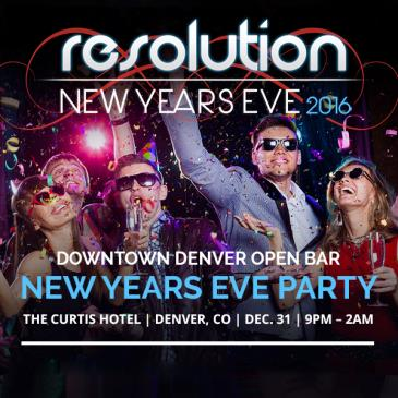 Resolution New Years Eve Party Downtown Denver