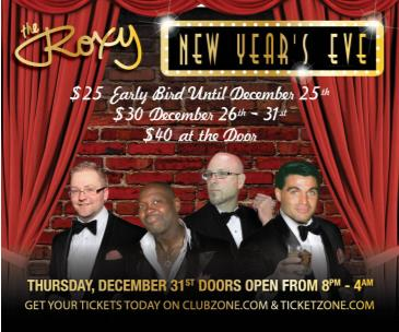 The Roxy's New Year's Eve Party