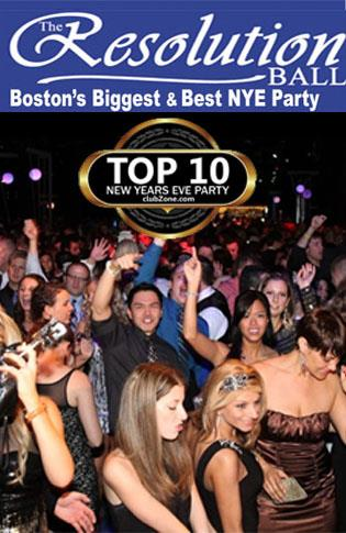 Boston Resolution Ball NYE 2016 with Felix Brown - 50% off