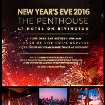 New Year's Eve at Hotel on Rivington Penthouse-img