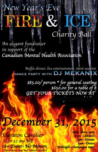 New Years Eve Fire & Ice Charity Ball