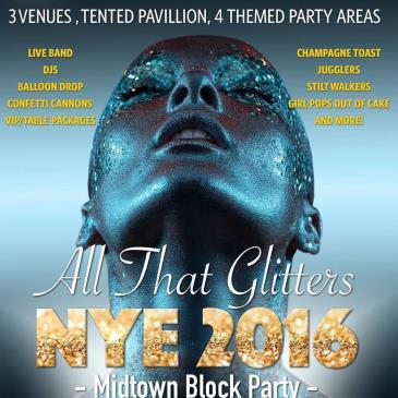 All That Glitters Nye 2016 Midtown Block Party