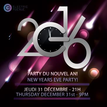 NEW YEARS EVE 2016 @ Electric Avenue