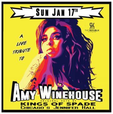 Amy Winehouse Tribute: Main Image