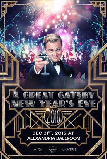 Great Gatsby NYE 2016