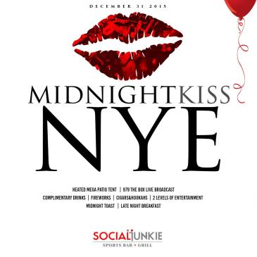 97.9 The Box Presents The Midnight Kiss Nye