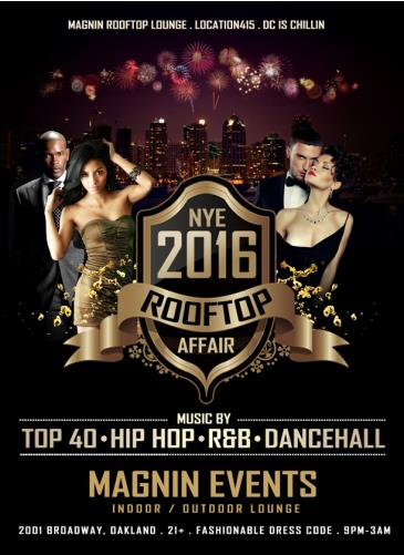 NYE 2016 Rooftop Affair