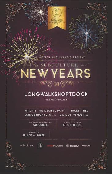 NEW YEARS 2016 w/ LONGWALKSHORTDOCK